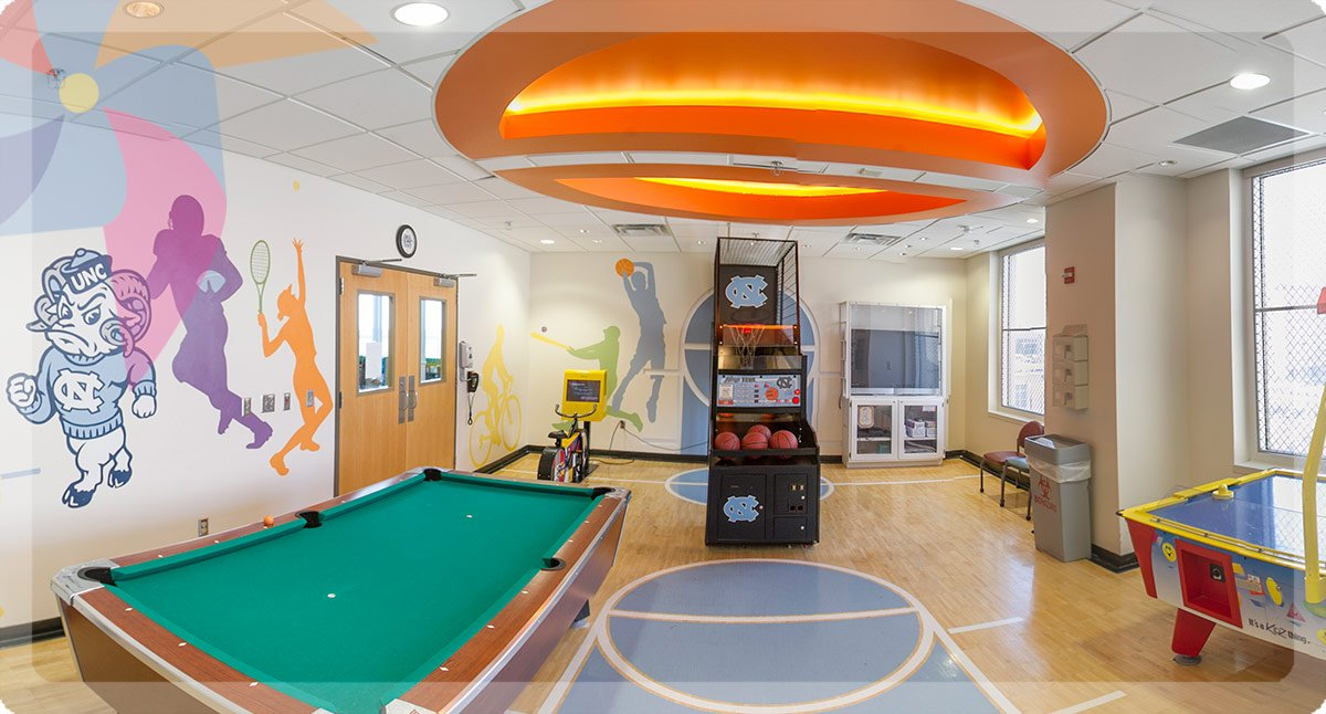 UNC Children's offers many amenities.