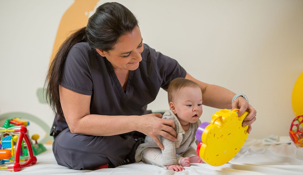 Child Life specialists ensure the well-being of our patients.