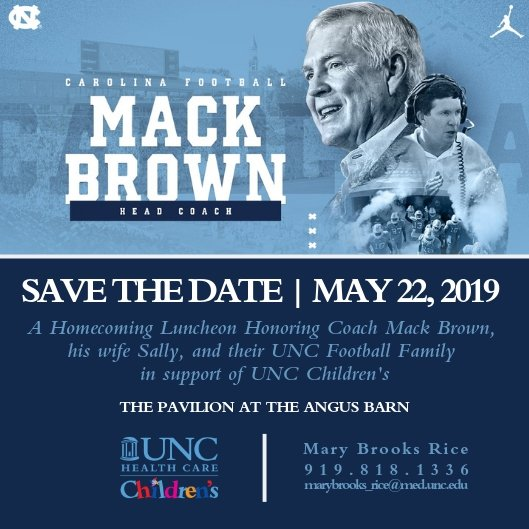Mack Brown Homecoming